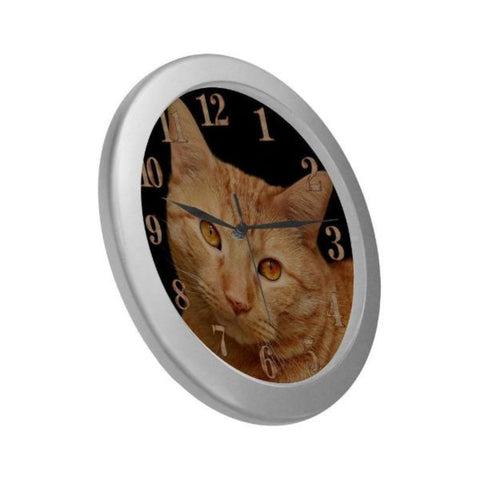 Image of cat wall clock - Cute Cats Store