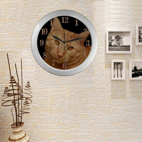Image of quartz cat wall clock - Cute Cats Store