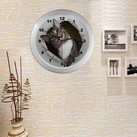 Image of Cute Cat Wall Clock - Cute Cats Store