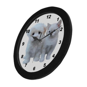 cat wall clock - Cute Cats Store