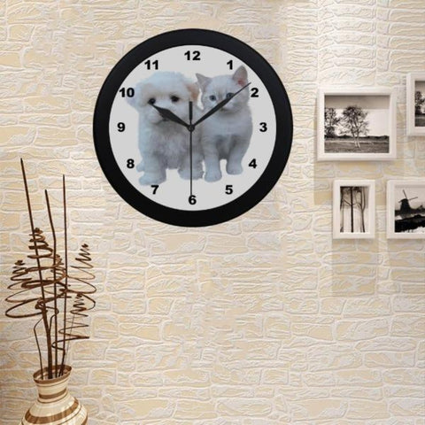 Image of kitty cat clocks - Cute Cats Store