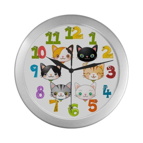 Home Decor One Size / Colorful Numbers - Cute Cats Store