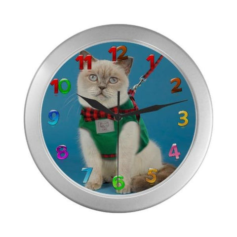Image of funny cat clock - Cute Cats Store