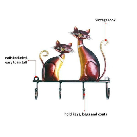 Image of wall mounted hanger - Cute Cats Store