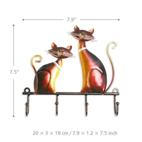 wall mounted hanger - Cute Cats Store