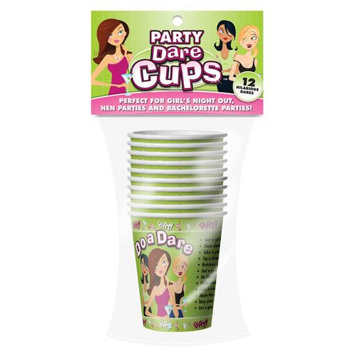Let's Party Dare Cups  - 9 oz Pack of 10