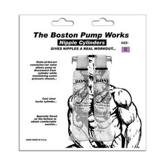 "Boston Pump Works Nipple Cylinders  1/2 "" -  Pair"