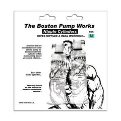 "Boston Pump Works Nipple Cylinders  3/4 "" - Pair"