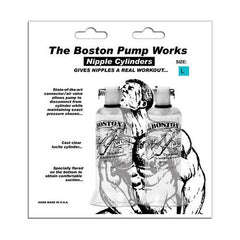 "Boston Pump Works Nipple Cylinders  1 "" - Pair"