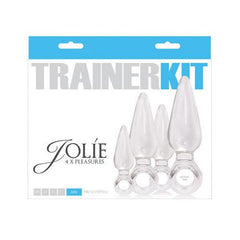 Jolie Trainer Kit Anal Plugs - Clear