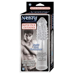 Nassty Collection Super Dick Extender - Clear
