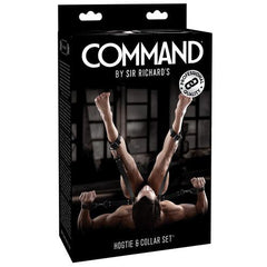 Sir Richards Command Hogtie & Collar Set