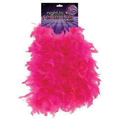"Night to Remember 72"" Feather Boa - Pink by sassigirl"