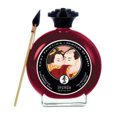 Shunga Edible Body Paint - 3.5 oz Champagne & Strawberries