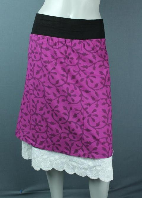 summer cotton skirt