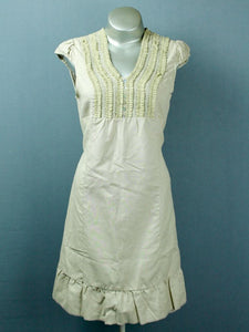 Loretta linen dress