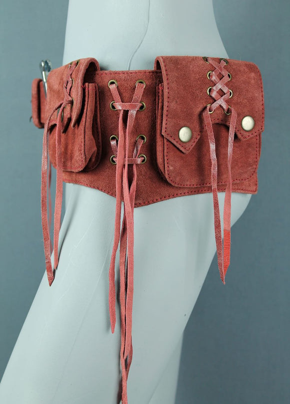 Small Suede Goa Belt Bag