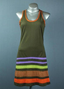 Colour band dress