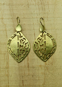 Brass earrings #5