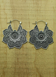 Silver plated earrings #1