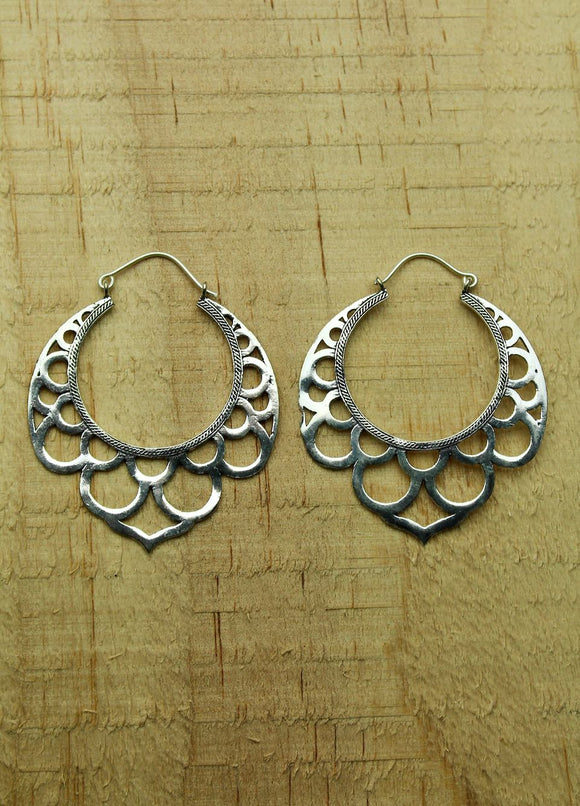 Silver plated earrings #2