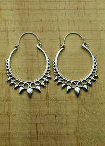 Silver plated earrings #6