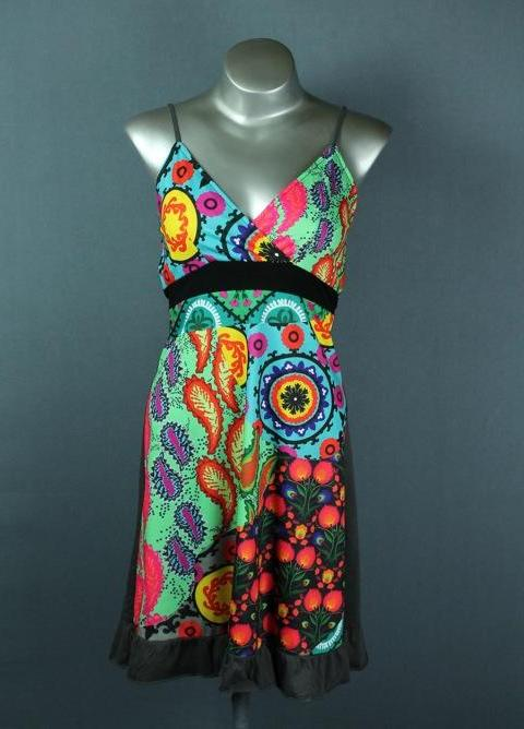 funky summer knee length dress