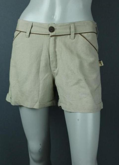soft canvas cotton short