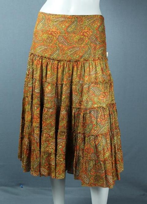 Mia's layered skirt