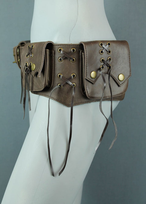 Small Leather Goa Belt Bag