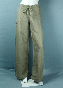 Women linen and cotton pant