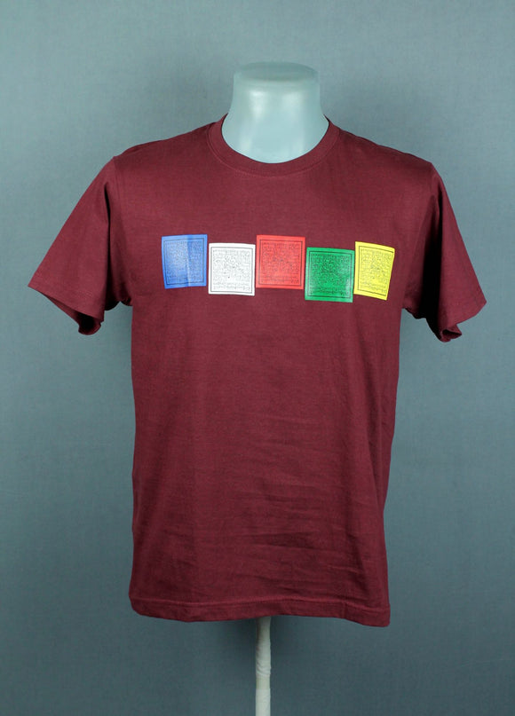 Prayer flag T-shirt