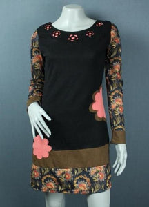 funky cotton jersey tunic dress top