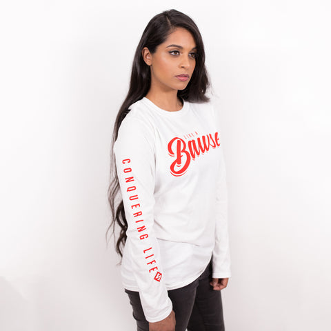 HUSTLE HARDER LONG SLEEVE TEE