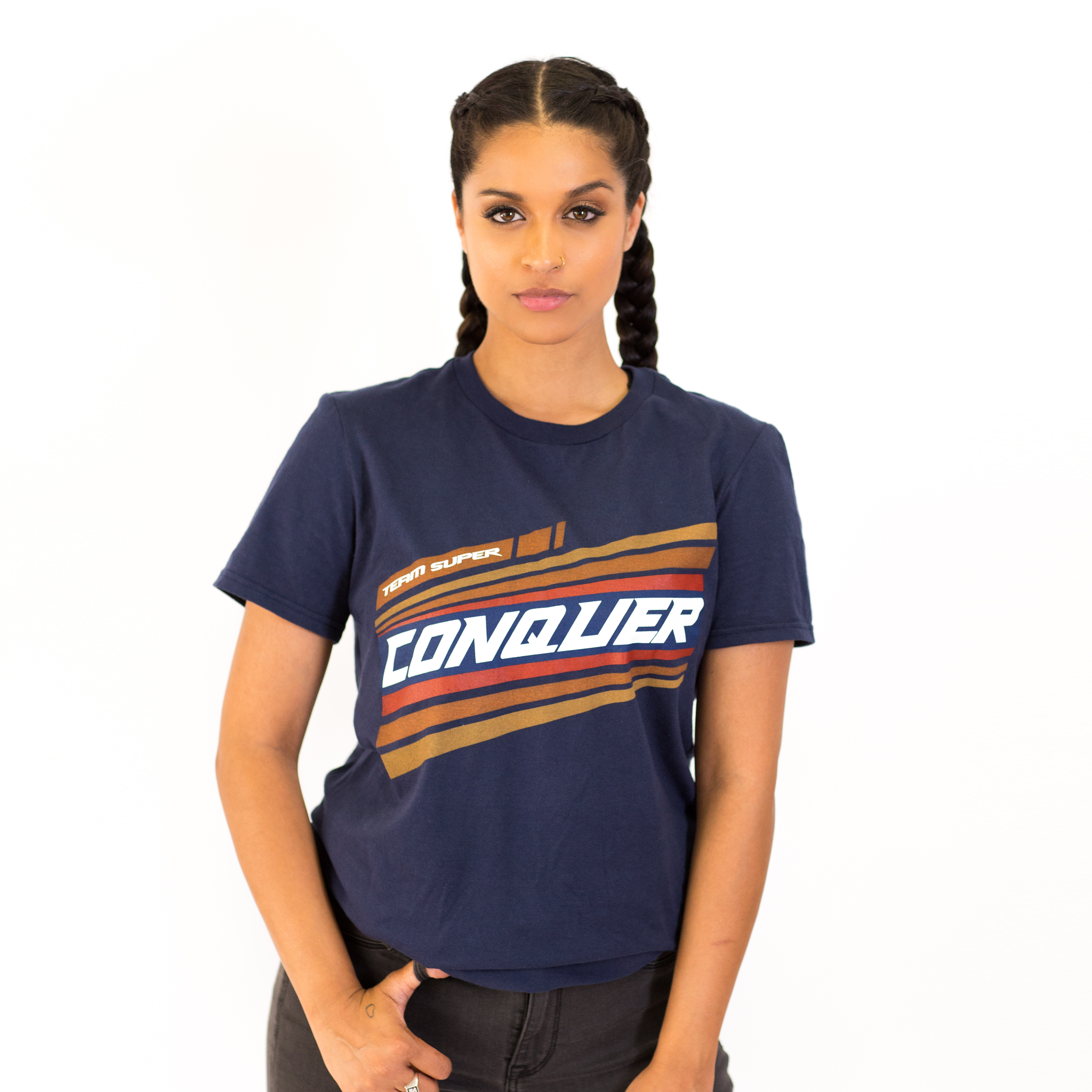 Catch Me Conquerin' T-Shirt - Navy
