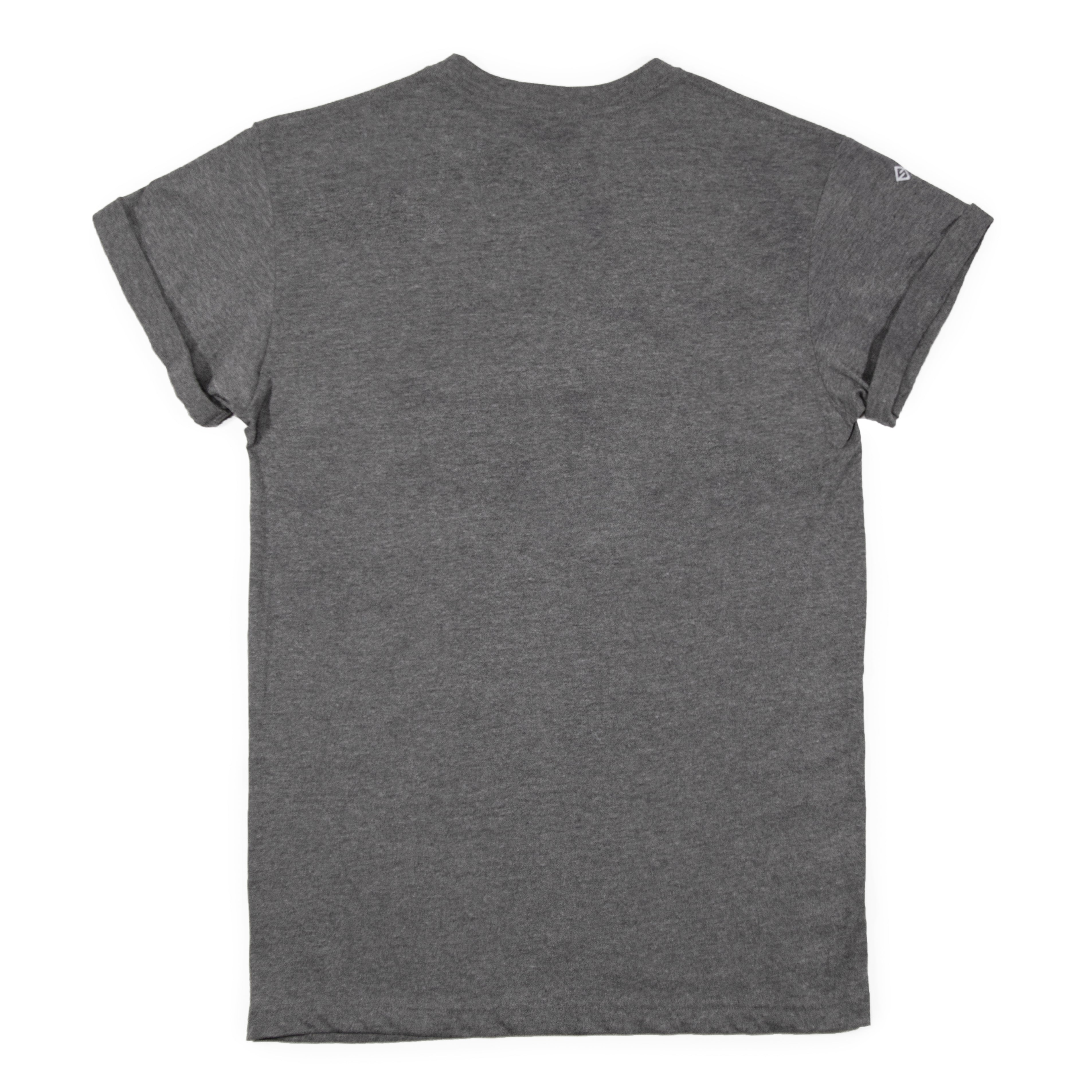 Conquer Side Rolled Sleeve Tee - Heather Grey
