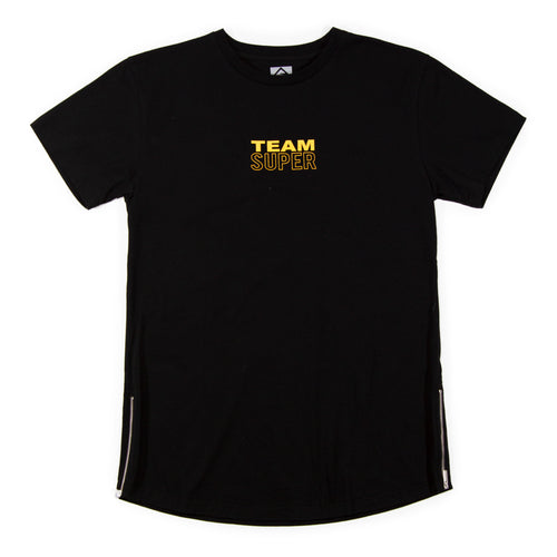 Team Super Scallop Zip Tee
