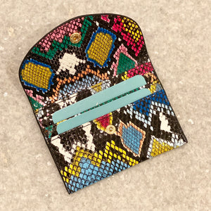 CARD CASE - TURQUOISE
