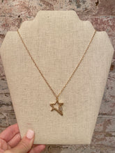 STAR CARABINER NECKLACE