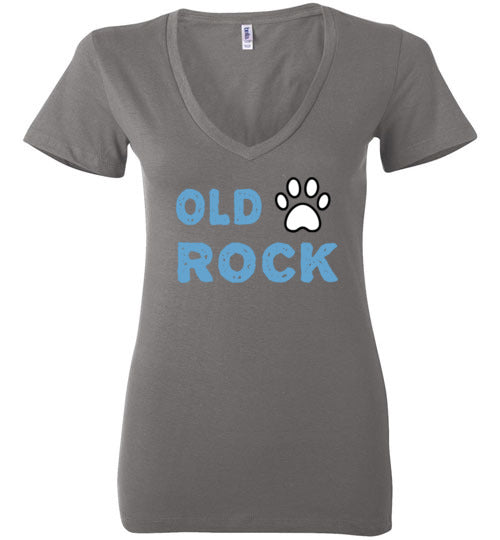 Old Dogs Rock V-Neck