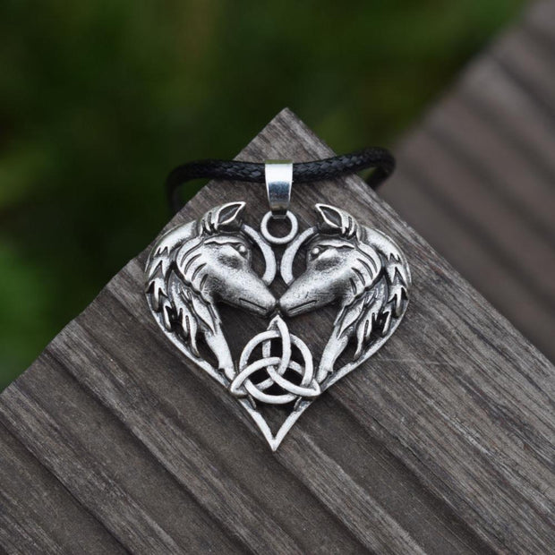 Celtic Wolf Love
