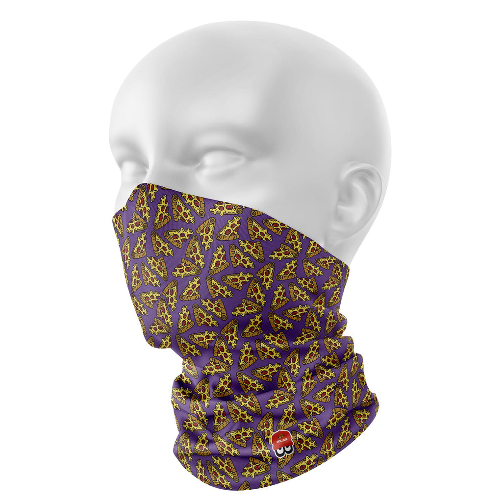 PIZZA PIE NECK GAITER