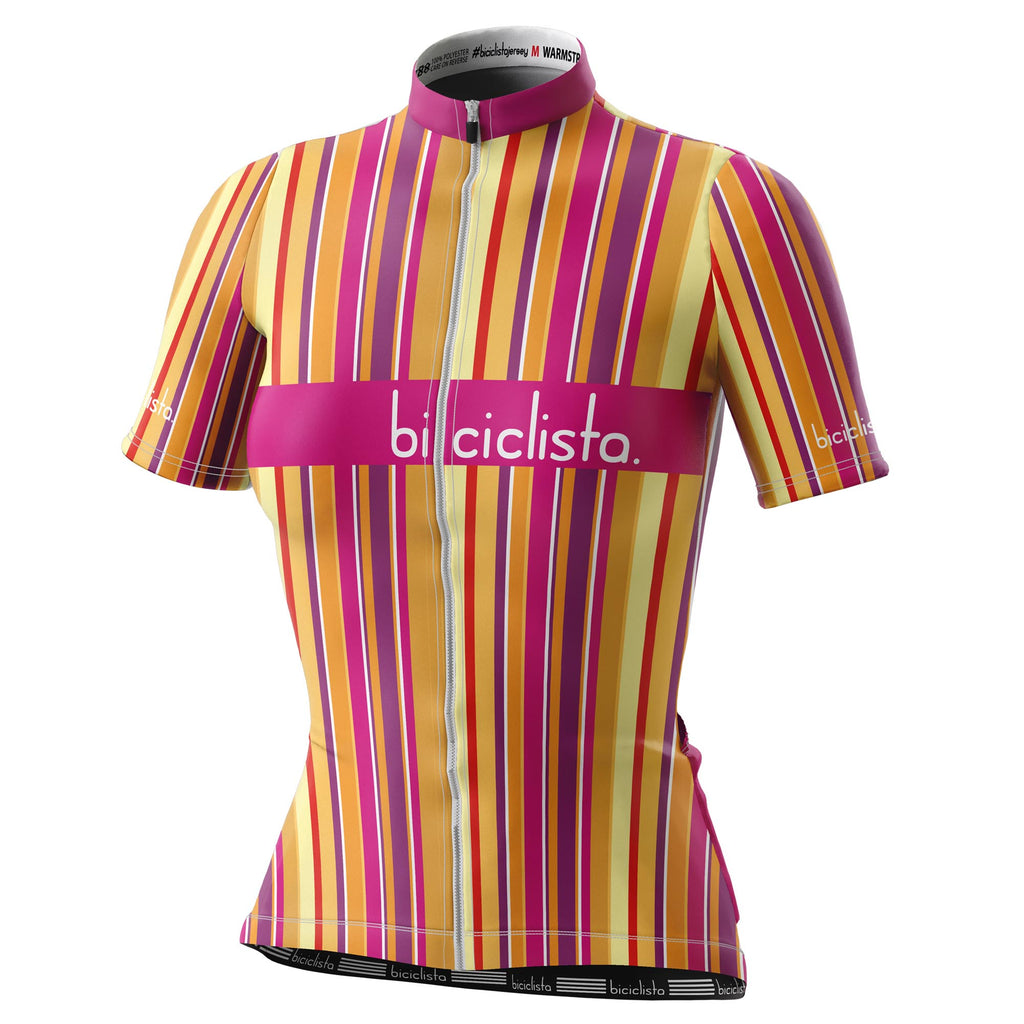 WARMSTRIPE race day jersey
