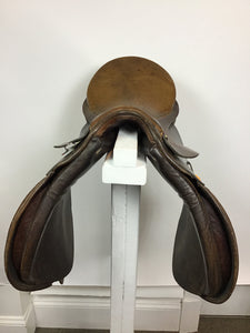 "18"" COVENTRY USED ALL PURPOSE-X/C SADDLE, Padded Flap, Brown - Maryland Saddlery"
