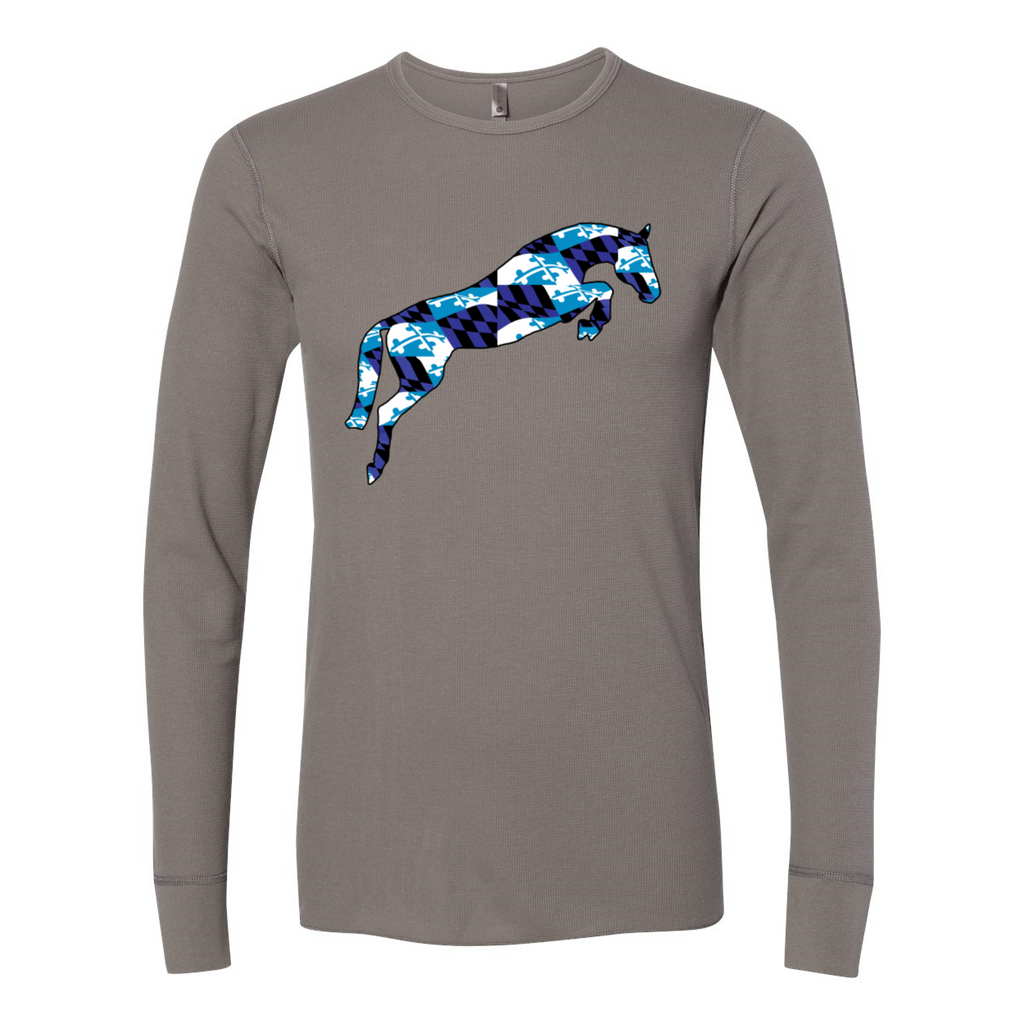 Blue Flag Unisex Long Sleeve Thermal