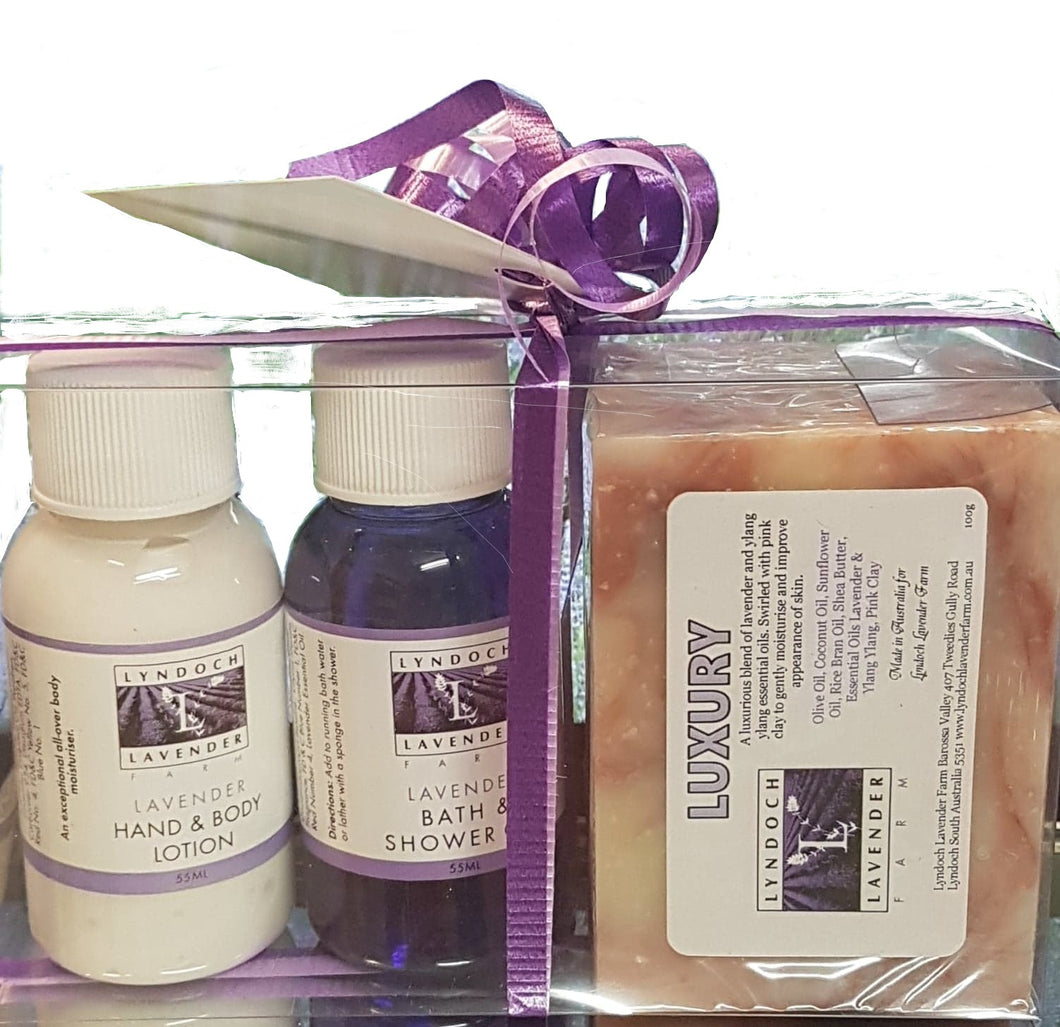 Lavender Soap and Twin Sample Gift Pack