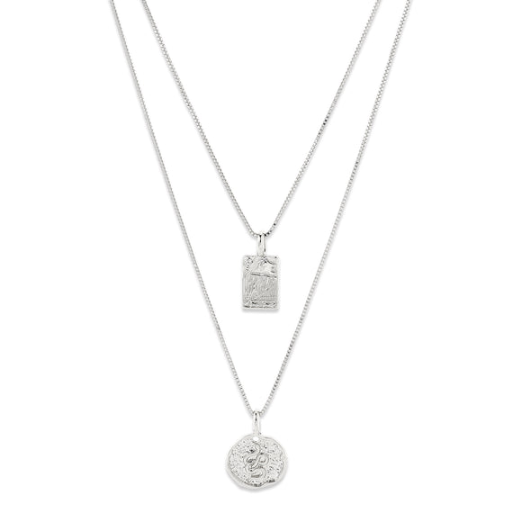 VALKYRIA NECKLACE SILVER PLATED