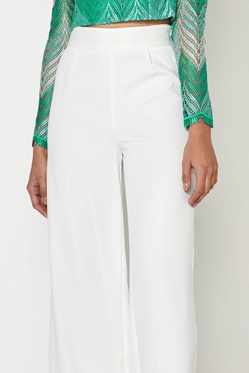 MOSSMAN – THE HEARTLESS PANT WHITE