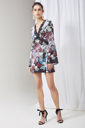 LOST DREAMS LS MINI DRESS