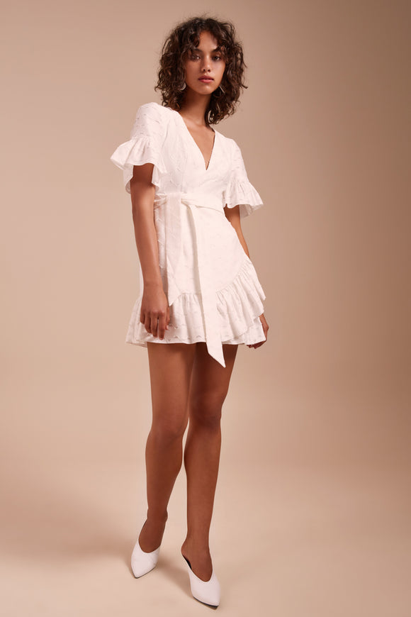 MAGNETISE DRESS IVORY